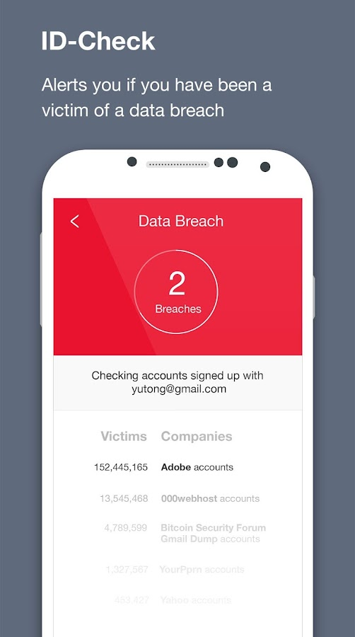 Free Antivirus & Security App Screenshot 2