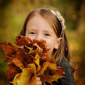 Autumn by Klaudia Klu - Babies & Children Child Portraits
