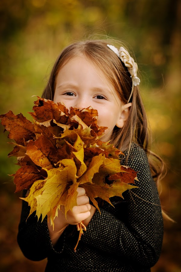 Autumn by Klaudia Klu - Babies & Children Child Portraits (  )