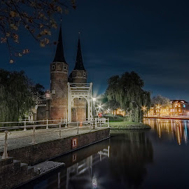Oostpoort Delft by Henk Smit - City,  Street & Park  Historic Districts