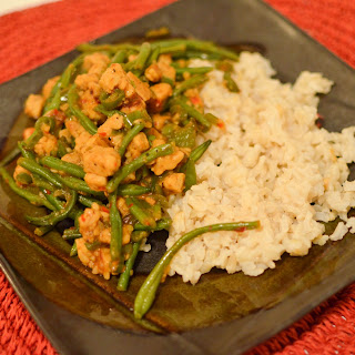 Spicy Green Bean Stir-Fry