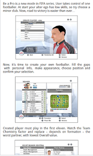 Guide for Fifa 08 - screenshot