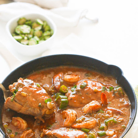 Chicken Shrimp and Okra Gumbo