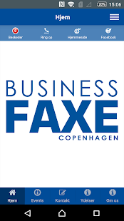 Business Faxe Copenhagen - screenshot