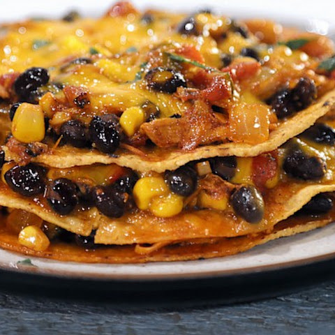 Tostada Enchilada Stacker