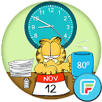 Garfield official watch face 2 Icon