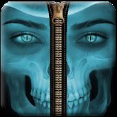 App Skull Zipper Lock Screen APK for Kindle