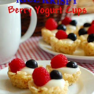 Berry Rice Krispies Recipes