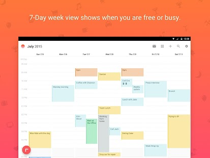 Sunrise-Kalender Screenshot