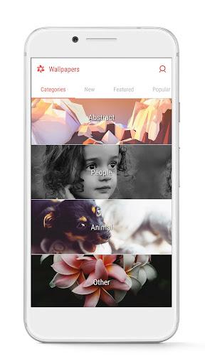 GO Launcher - 3D parallax Themes & HD Wallpapers screenshot 8