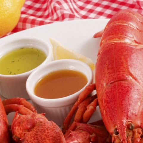Lobster with Dipping Sauces