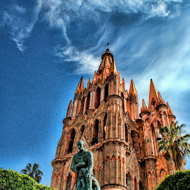 san miguel de allende, mexico.. world heritage site by Jim Knoch - Buildings & Architecture Public & Historical (  )