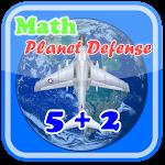 Math Planet Defense Icon