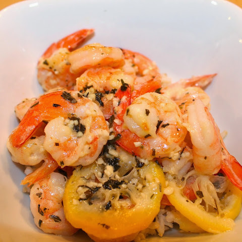 Garlicky Buttered Shrimp-Pinterest Trial