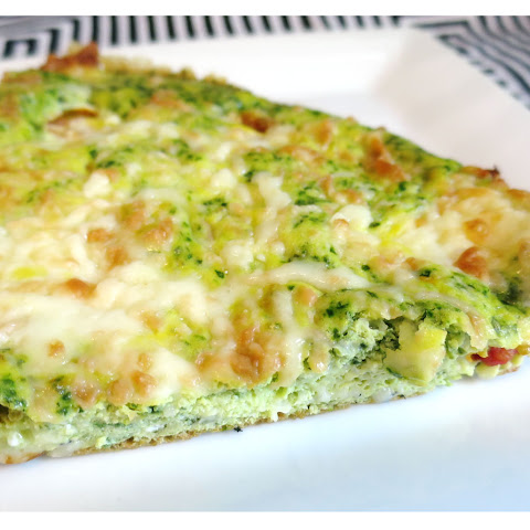 21 Day Fix Spinach Pesto Frittata