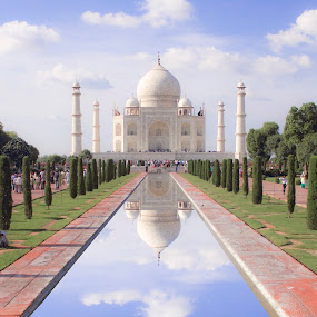 Taj Mahal ♥ by Ashish Jain - Buildings & Architecture Statues & Monuments