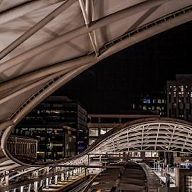 Union station by Gwen Paton - Buildings & Architecture Bridges & Suspended Structures ( denver, light rail, union station, transportation,  )