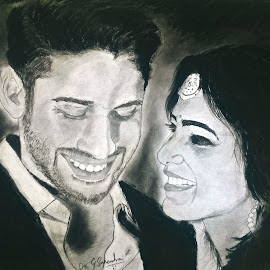 Happy valentine's day My love is towards my work and art ... :) by Surender Gangineni - Drawing All Drawing