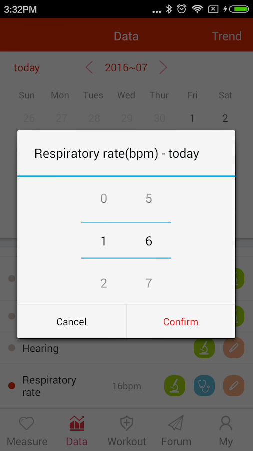 iCare Respiratory Rate Pro Screenshot 4