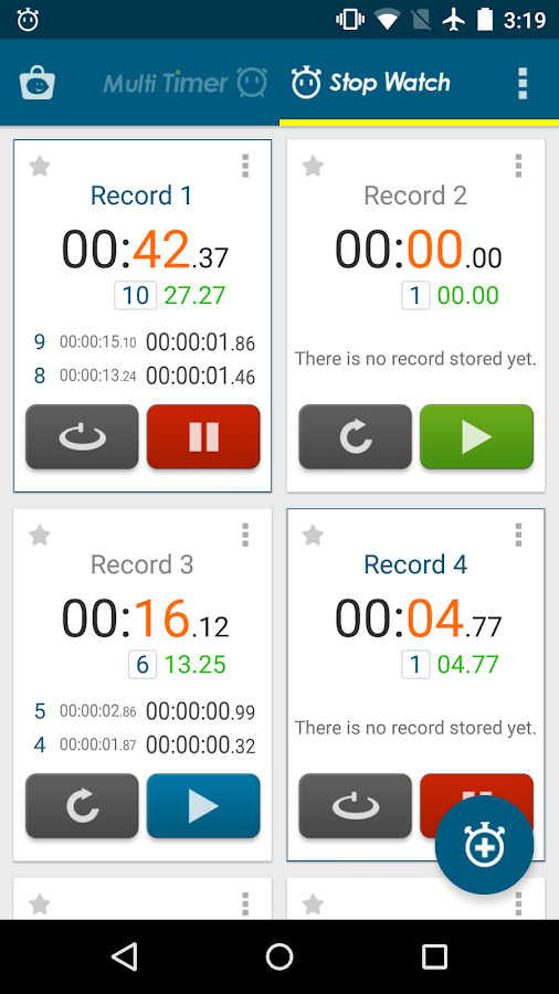 Multi Timer StopWatch Screenshot 7