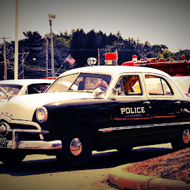 Historic Rides by Bridget Wegrzyn - Transportation Automobiles ( car, police, automobile, vehicle, retro, historic, classic,  )