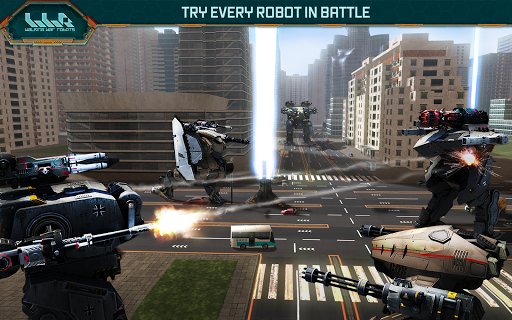 Walking War Robots - screenshot