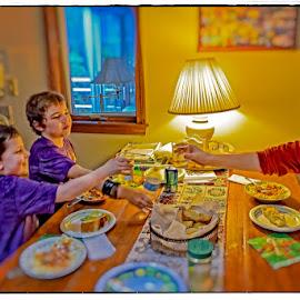 The Toast by Mark Wirzburger - Babies & Children Children Candids (  )