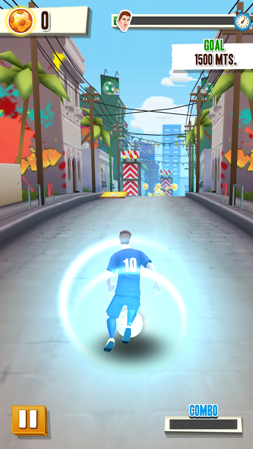 Messi Runner Screenshot 1