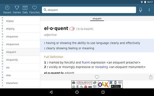 Dictionary - Merriam-Webster screenshot 17