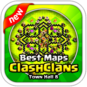 BEST Maps Clash of Clans TH8