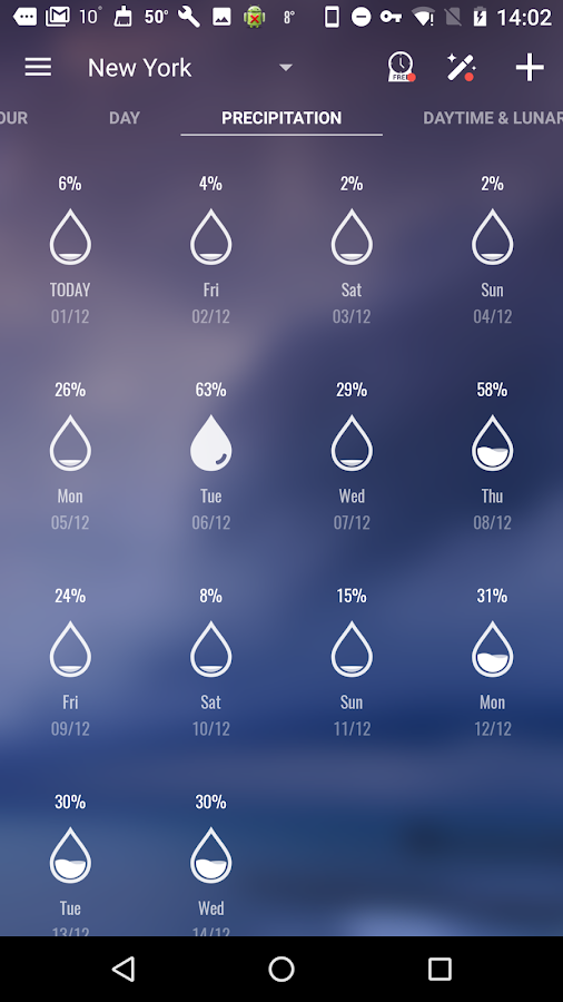 Amber Weather&Radar Free Screenshot 5