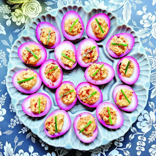 Beet Pickled Devilish Eggs