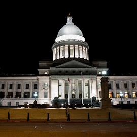 Little Rock Arkansas State Capital by Patricia Konyha - Buildings & Architecture Public & Historical