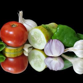 Fresh veg by SANGEETA MENA  - Food & Drink Ingredients