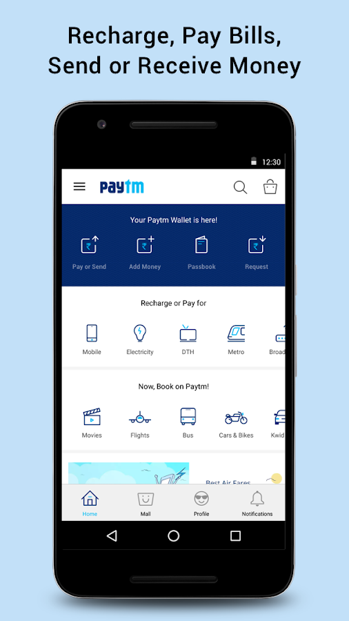 Recharge, Bill Pay & Wallet Screenshot