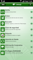 Screenshot of UnicajaMovil