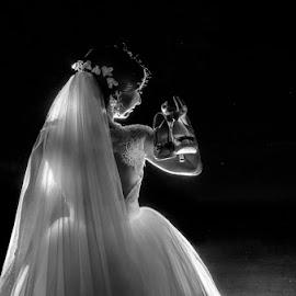 by Sima Iulian - Wedding Bride ( wedding )