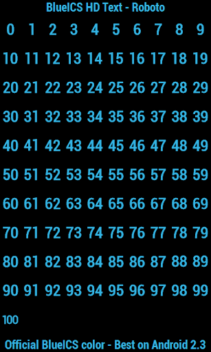 BN Pro BlueICS HD Text screenshot 3