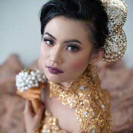 Bridal by Shahril Kzrnn - People Portraits of Women ( models, wedding photography, wedding photographers, bridal portraits, costume )