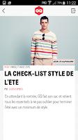 Screenshot of GQ France