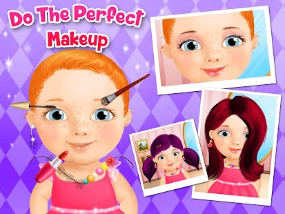Free Download Sweet Baby Girl Beauty Salon APK for Samsung