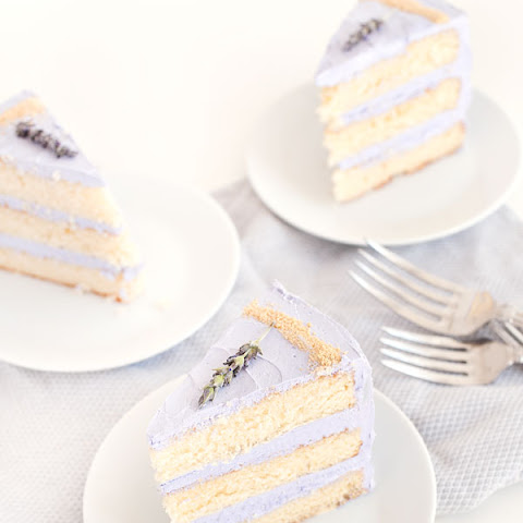 Honey Lavender Cake