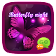 (FREE) GO SMS BUTTERFLY THEME APK