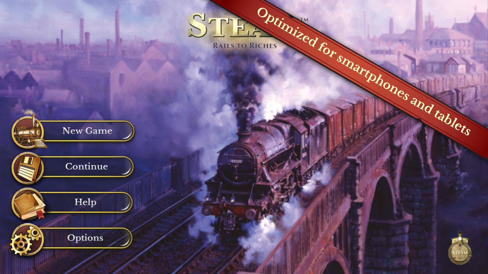 Steam: Rails to Riches Screenshot 2