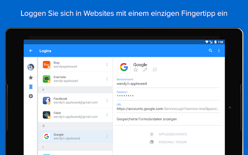 1Password - Passwort-Manager Screenshot