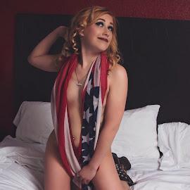 America  by Keshia White - Nudes & Boudoir Boudoir ( #usa #america #merica )