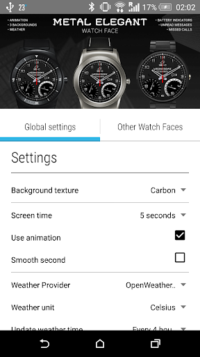 Metal Elegant Watch Face - screenshot