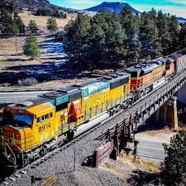 by Benjamin Logsdon - Transportation Trains