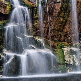 Montello, Wisconsin waterfall by Jason Lockhart - Landscapes Waterscapes ( wisconsin, waterfall, marquette county, montello, lake, central park )