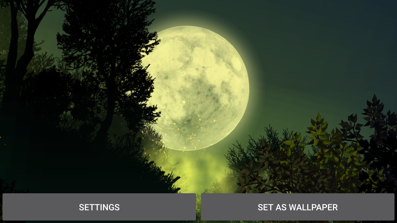 Firefly Forest Live Wallpaper Screenshot 16